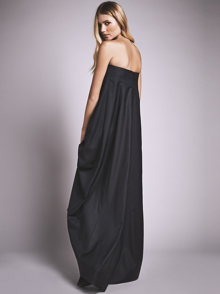 ecb29b9d4be Lyst - Free People Josephine Dress in Black
