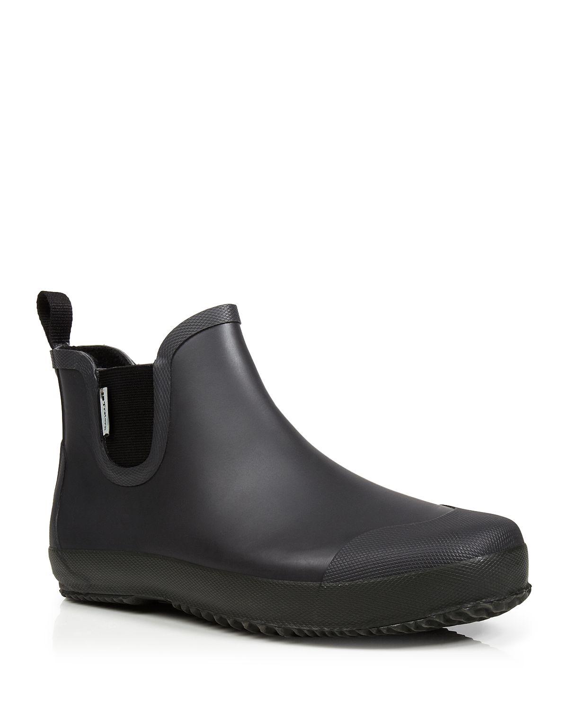 Tretorn Bo Low Waterproof Rubber Rainboots In Gray For Men
