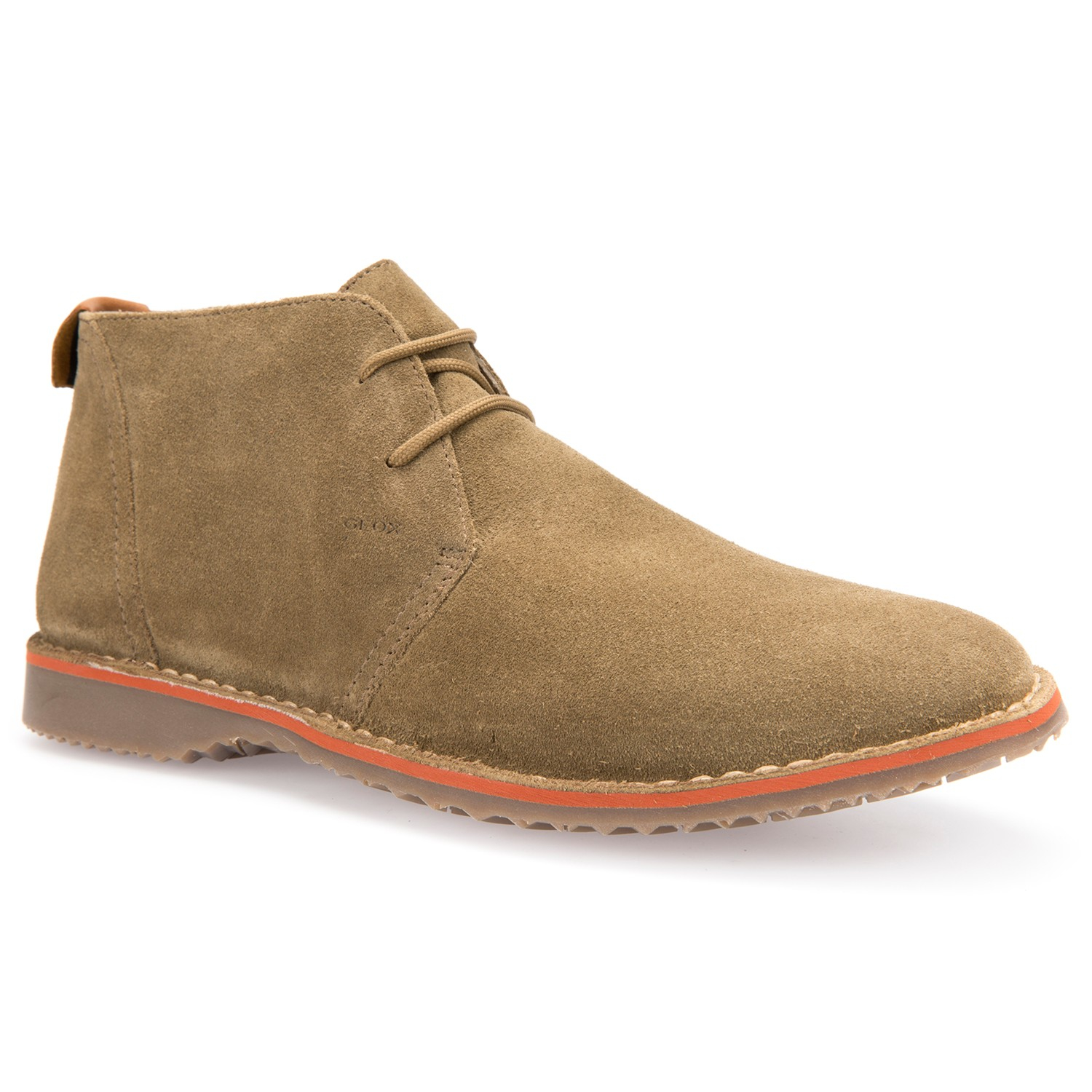 Geox Zal Lace Up Chukka Boots In Brown For Men Lyst