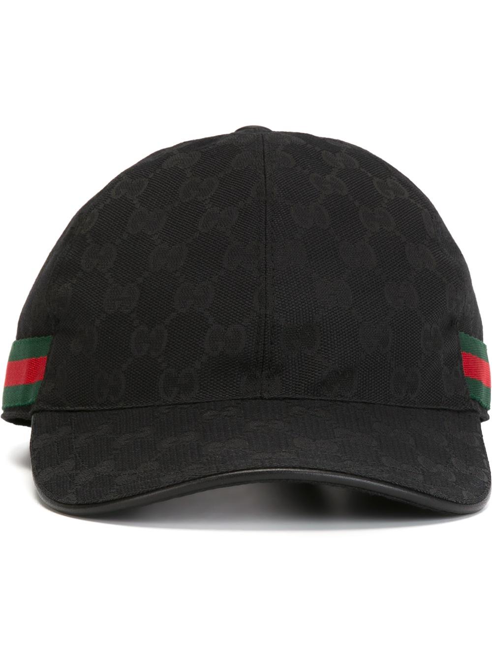 Gucci Original Gg Canvas Baseball Hat for Men - Lyst 3337ac586ab