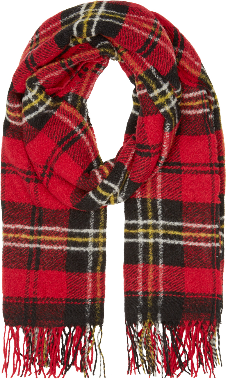 Étoile isabel marant Red Check Carlton Scarf in Red | Lyst