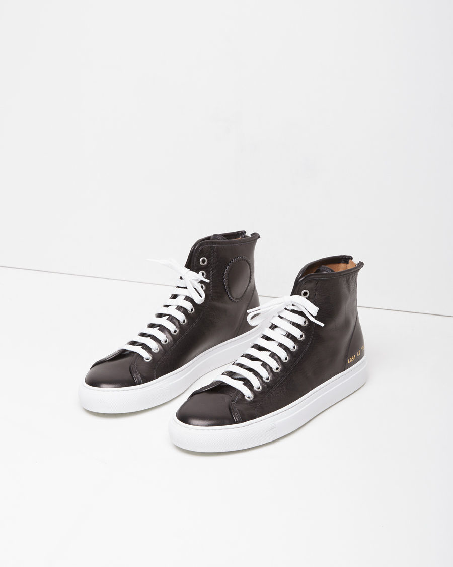 d698ede84f7d Lyst - Common Projects Tournament High-top Sneaker in Black for Men
