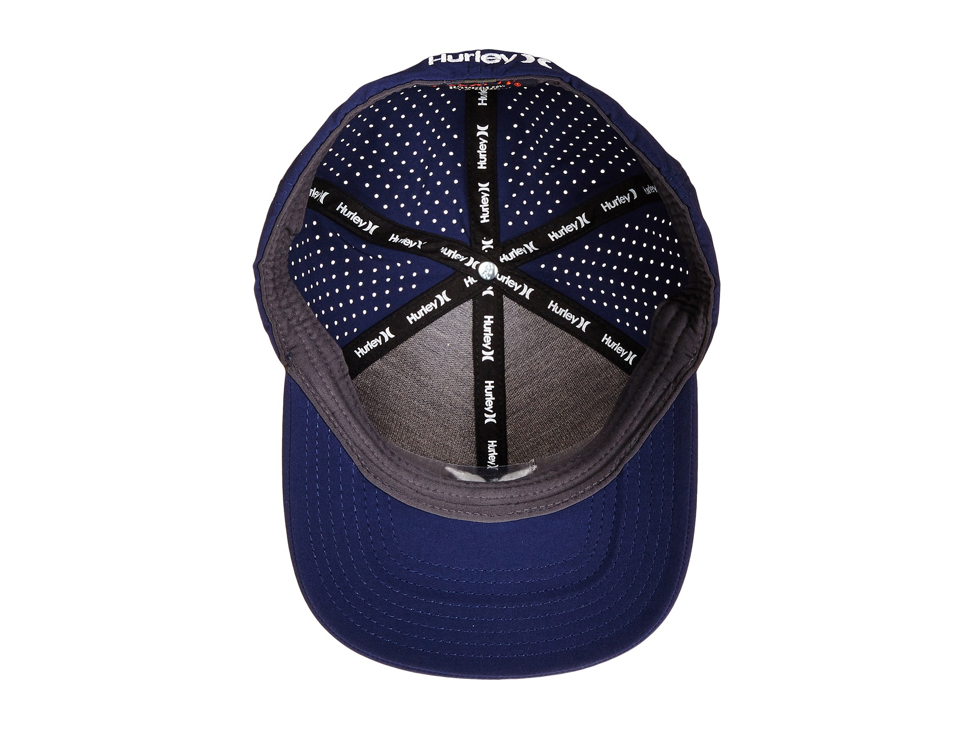 946ac3413ee ... cheapest lyst hurley phantom vapor 2.0 fitted hat in blue for men 145f3  358aa ...