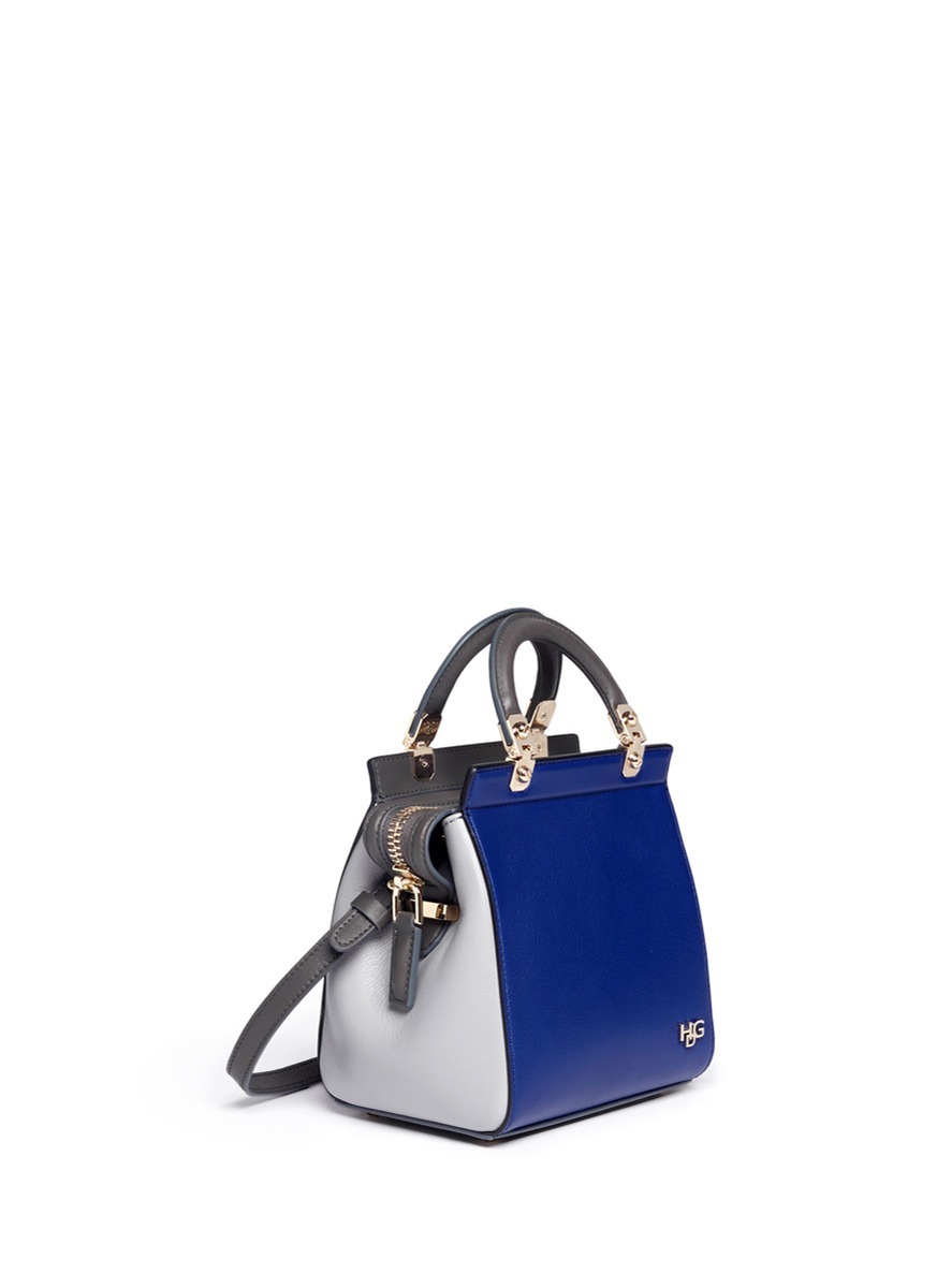 c53b429e9826 Lyst - Givenchy Hdg Sandy Mini Leather Bag in Blue
