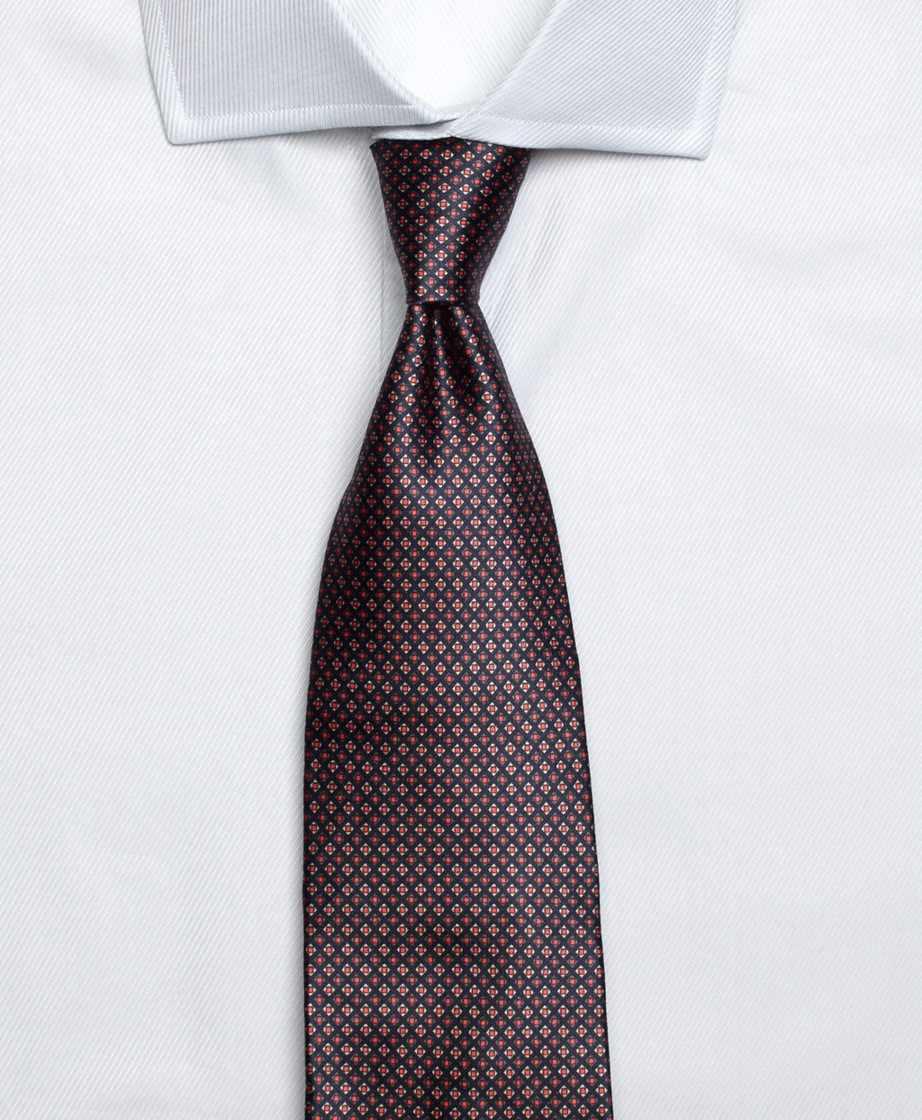 ad69fa033cfd Brooks Brothers Golden Fleece 7-fold Micro Square Tie in Gray for ...