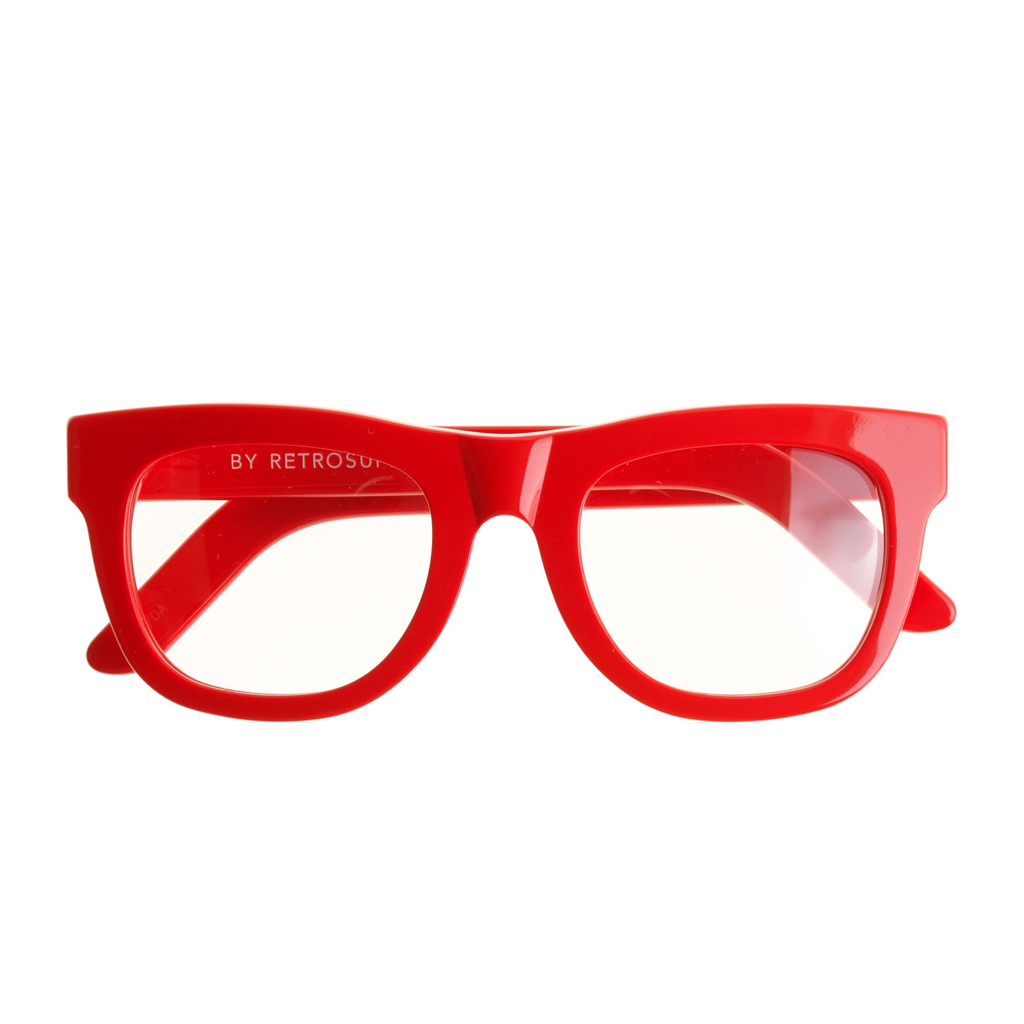 J Crew Super Ciccio Eyeglasses In Red Diner Red Lyst