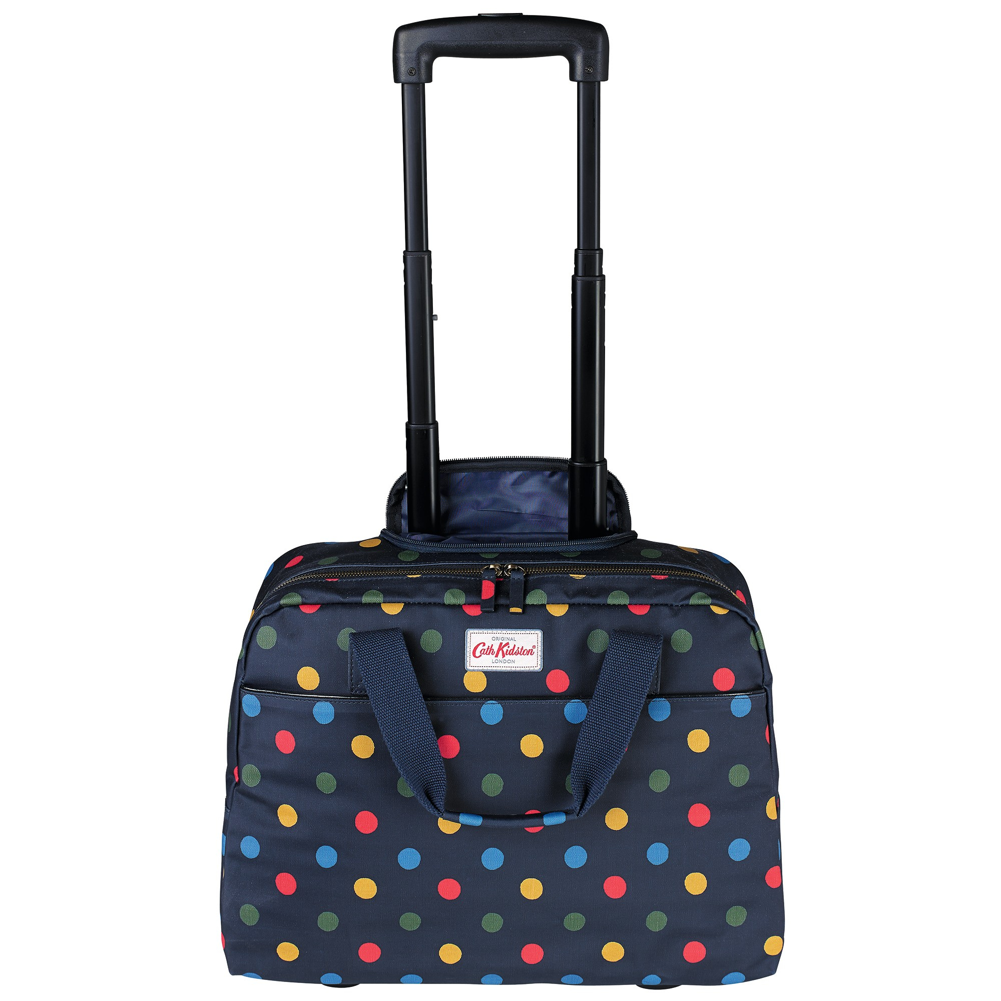 Cath Kidston Button Spot Wheeled Business Bag In Blue Lyst