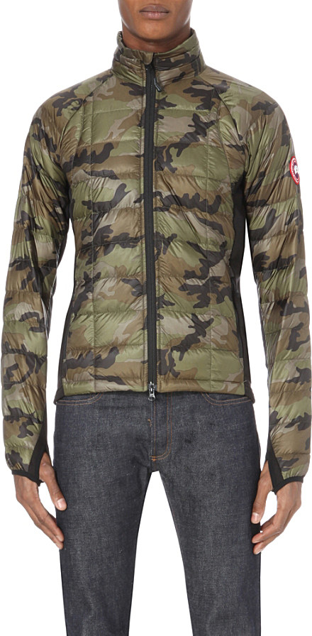 Canada Goose mens outlet store - Canada goose Hybridge Quilted Shell Jacket in Green for Men ...