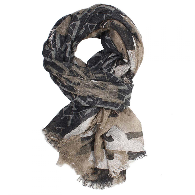 armani scarf in gray lyst