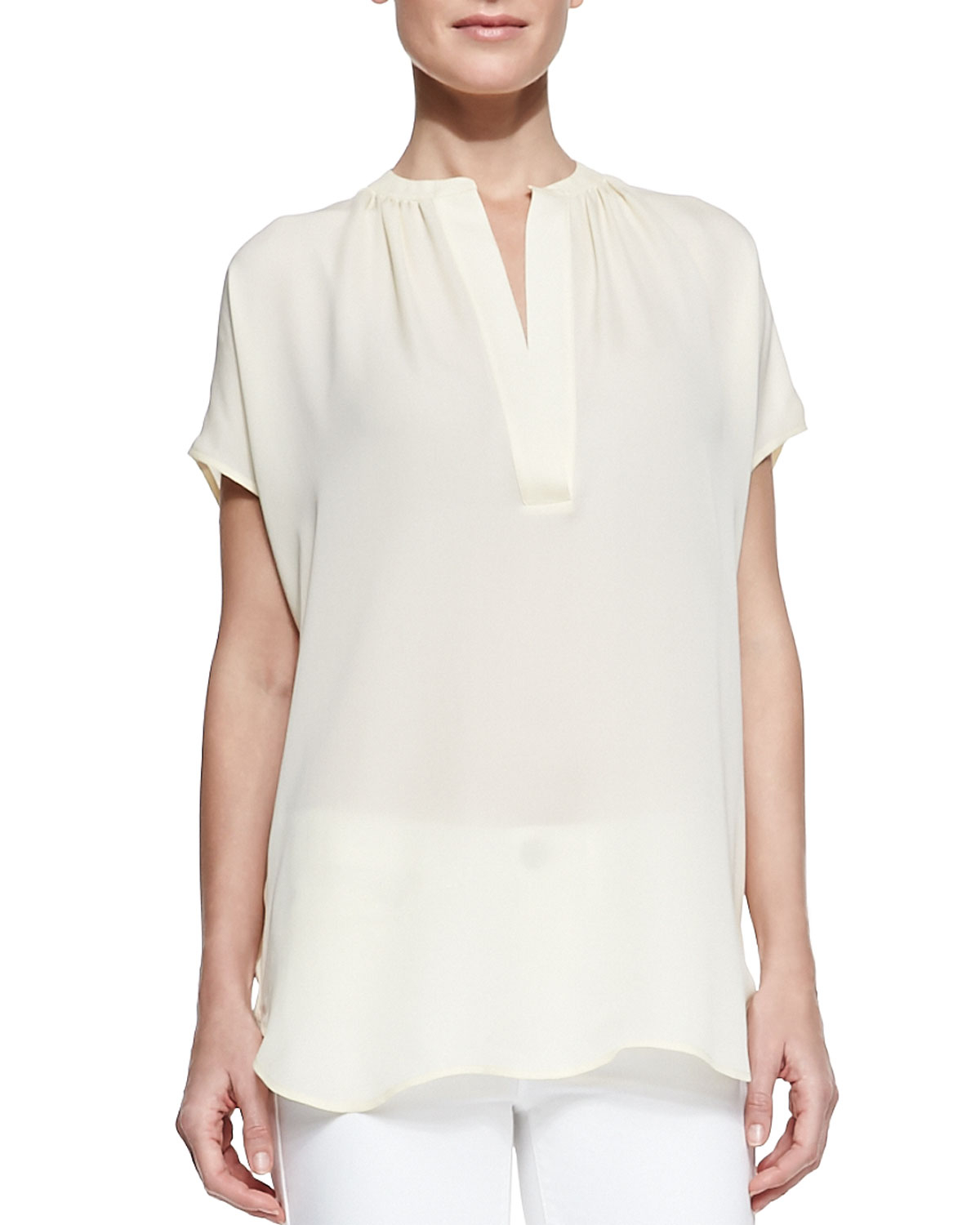 What Is A Cap Sleeve Blouse 48