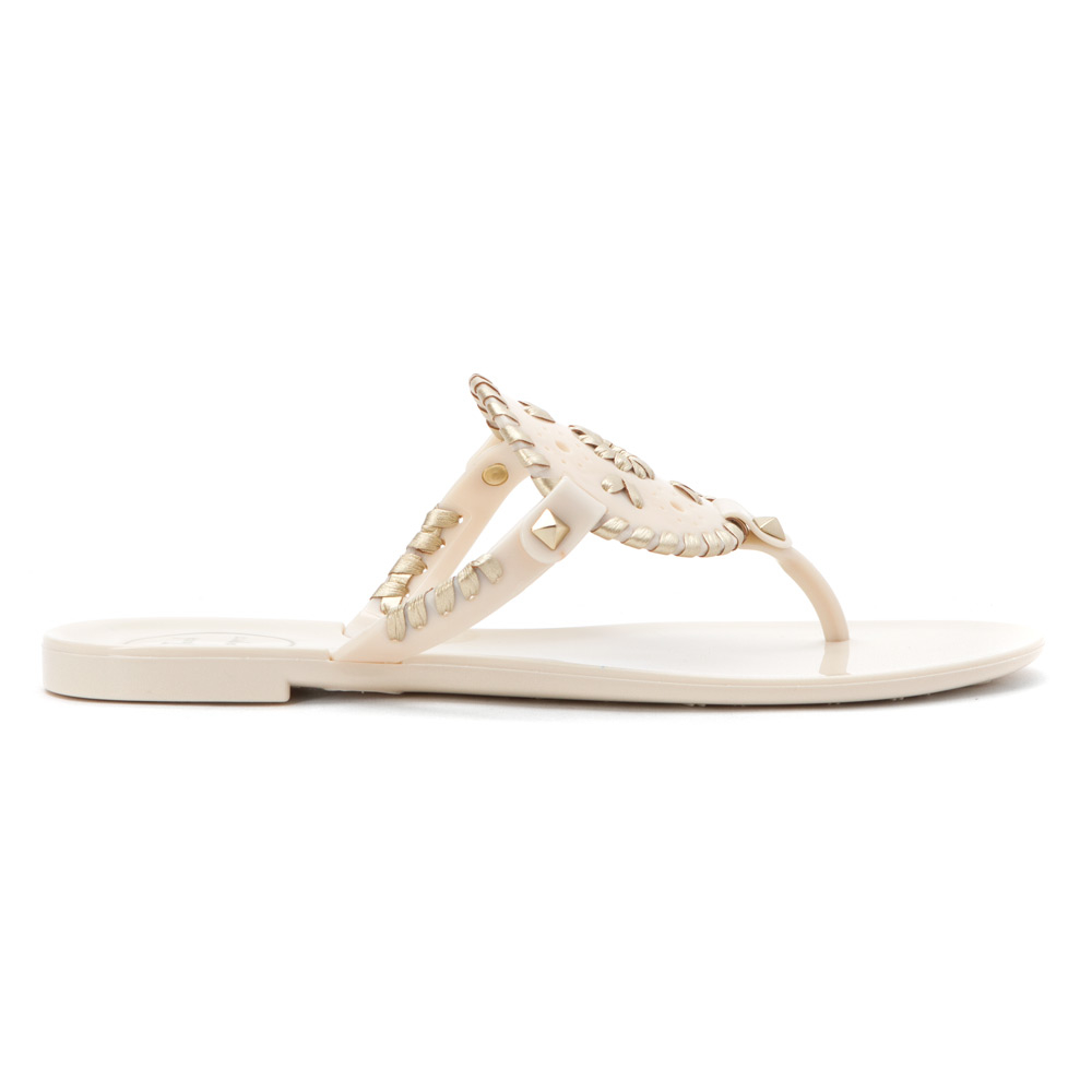 1bfebe250252 Lyst - Jack Rogers Georgica Jelly in White