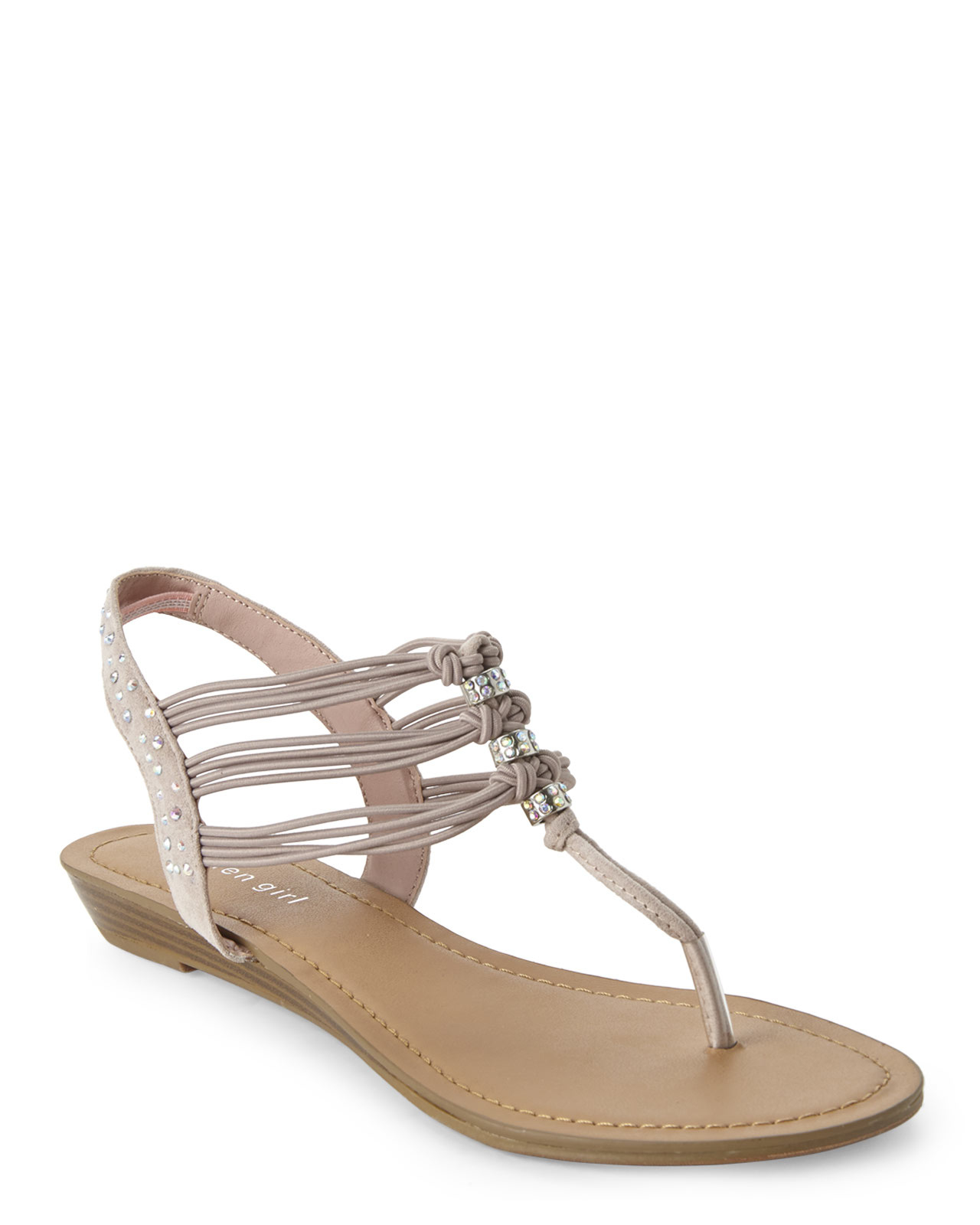 Madden Girl Blush Thrill Strappy Sandals In Pink Lyst