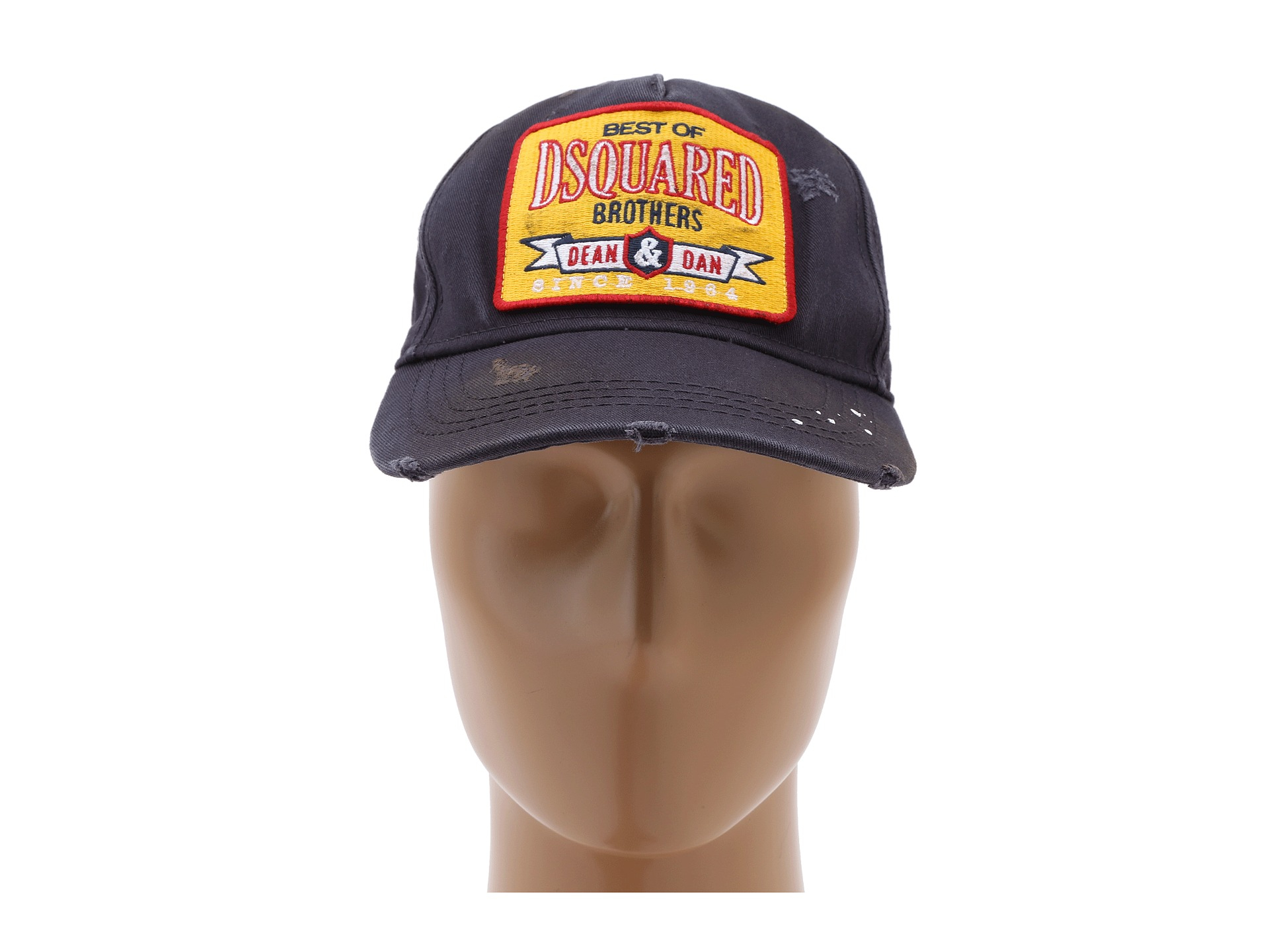 Lyst - DSquared² Dsquared Brothers Baseball Cap in Blue for Men dee950d4280