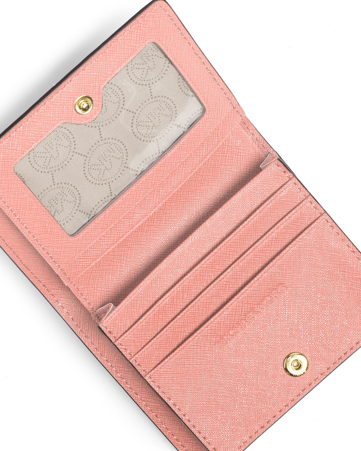 33a1f74867ee MICHAEL Michael Kors Jet Set Travel Flap Card Holder in Pink - Lyst