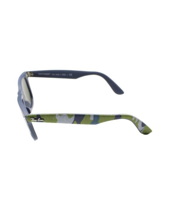 7f2b25ef6da Lyst - Ray-Ban Rb 2140 606140 Matte Blue Military Green Plastic ...