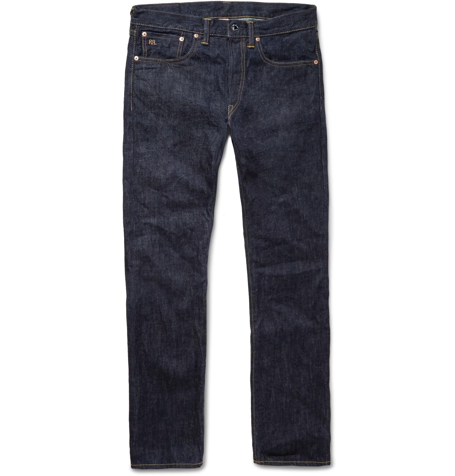 Dark Blue Jean Jacket Men