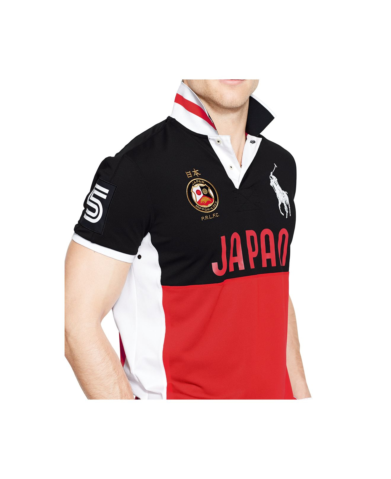 f211291d Polo Ralph Lauren Polo Sport Japan Performance Mesh Polo in Red for ...