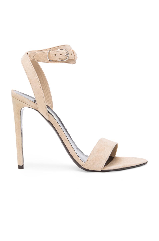 great deals for sale Balenciaga Suede Ankle Strap Sandals discount big sale buy cheap official site c3cKfmUz