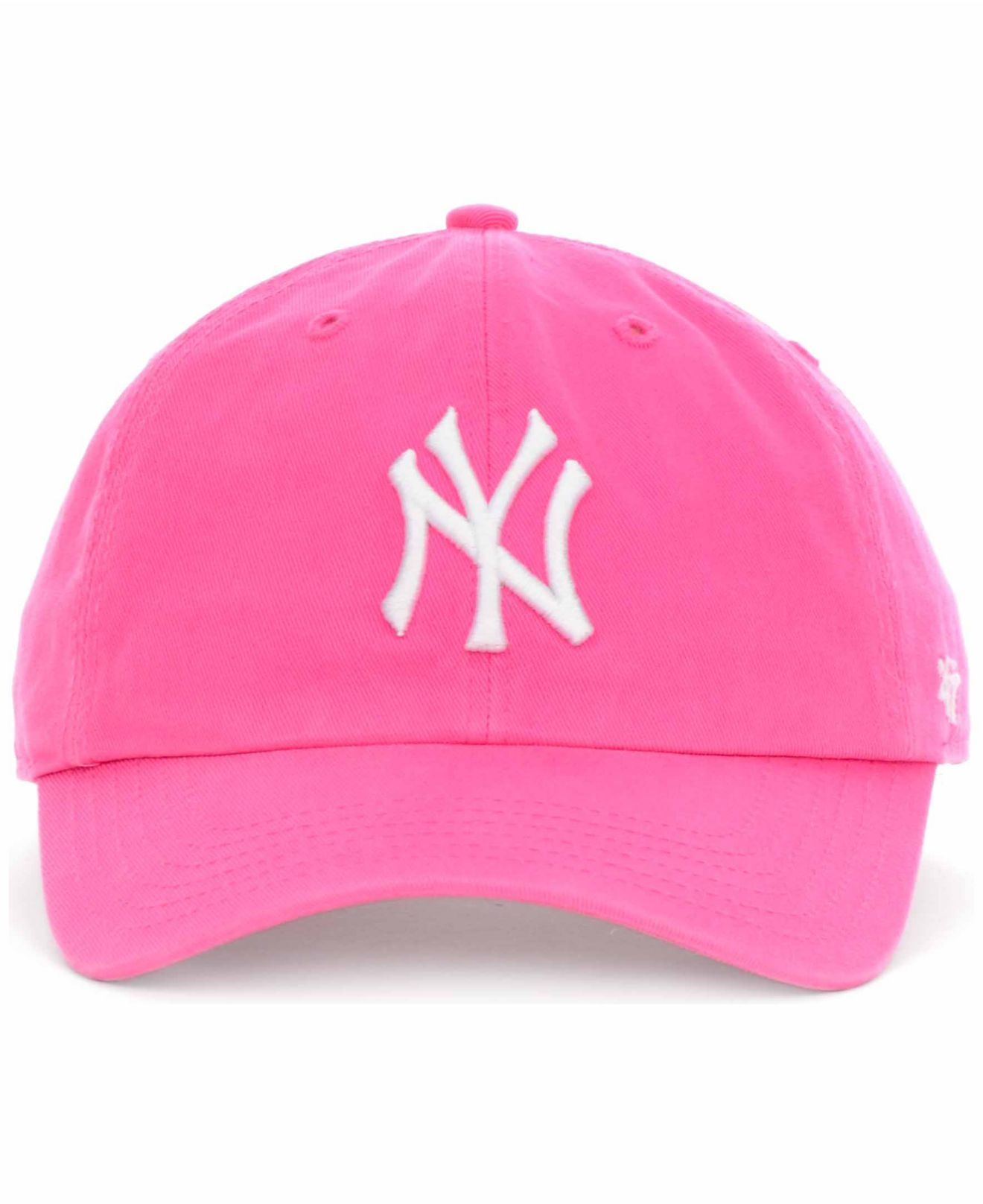 785a86fdb6e255 ... get store f5713 3256f lyst 47 brand new york yankees clean up hat in  pink 4fc4a