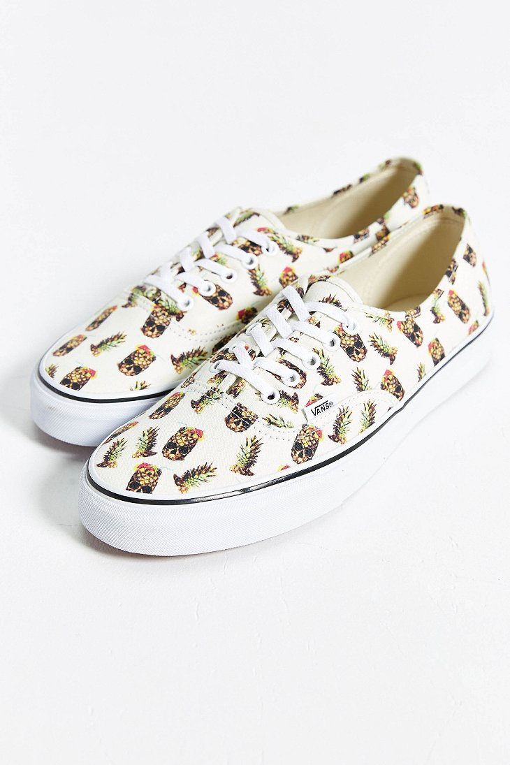 23030c87503aa0 ... Lyst Vans Authentic Pineapple Sneaker in White for Men
