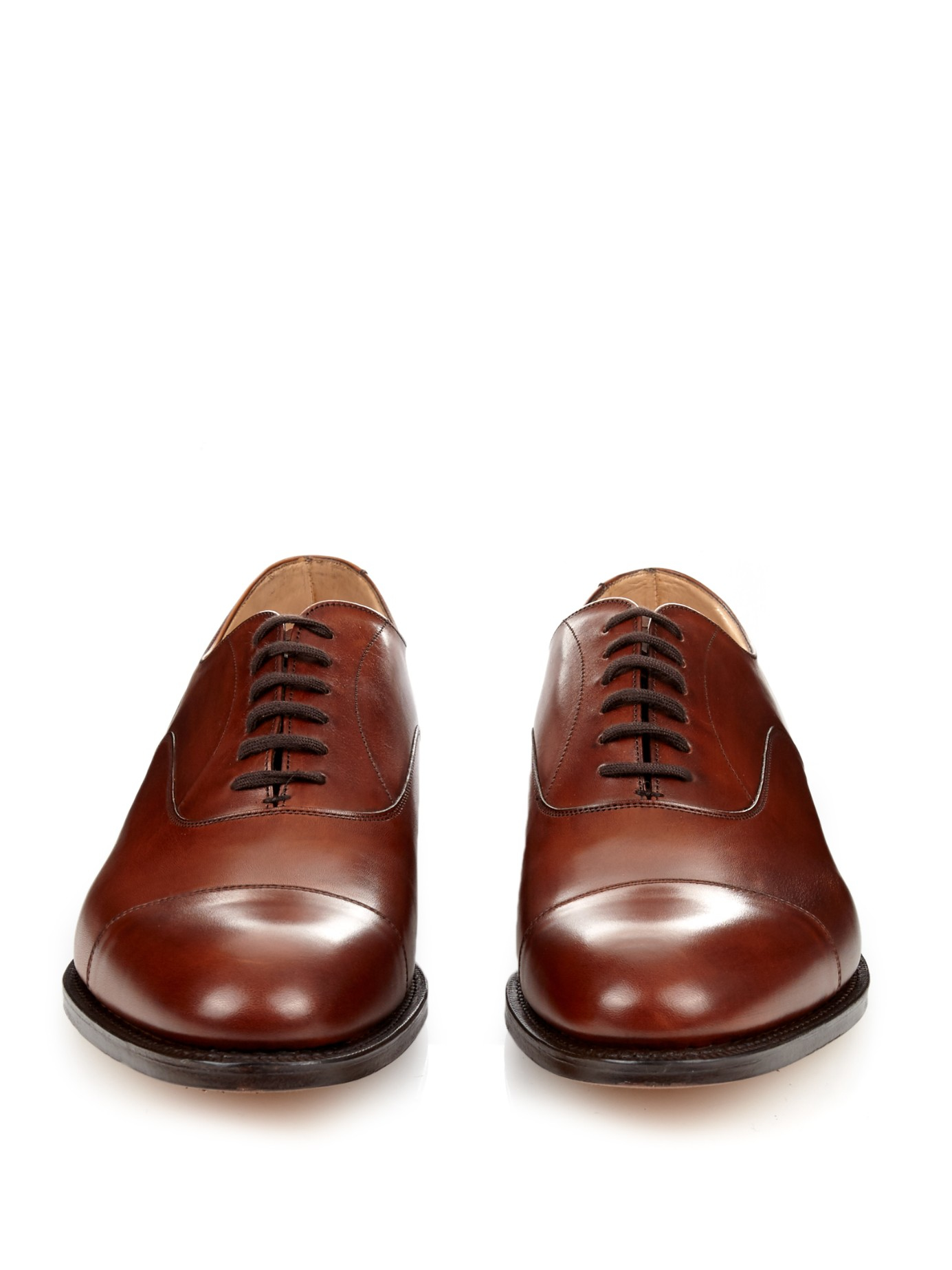 Lyst - Church'S Dubai Leather Oxford Shoes in Brown for Men Robert Graham Designer