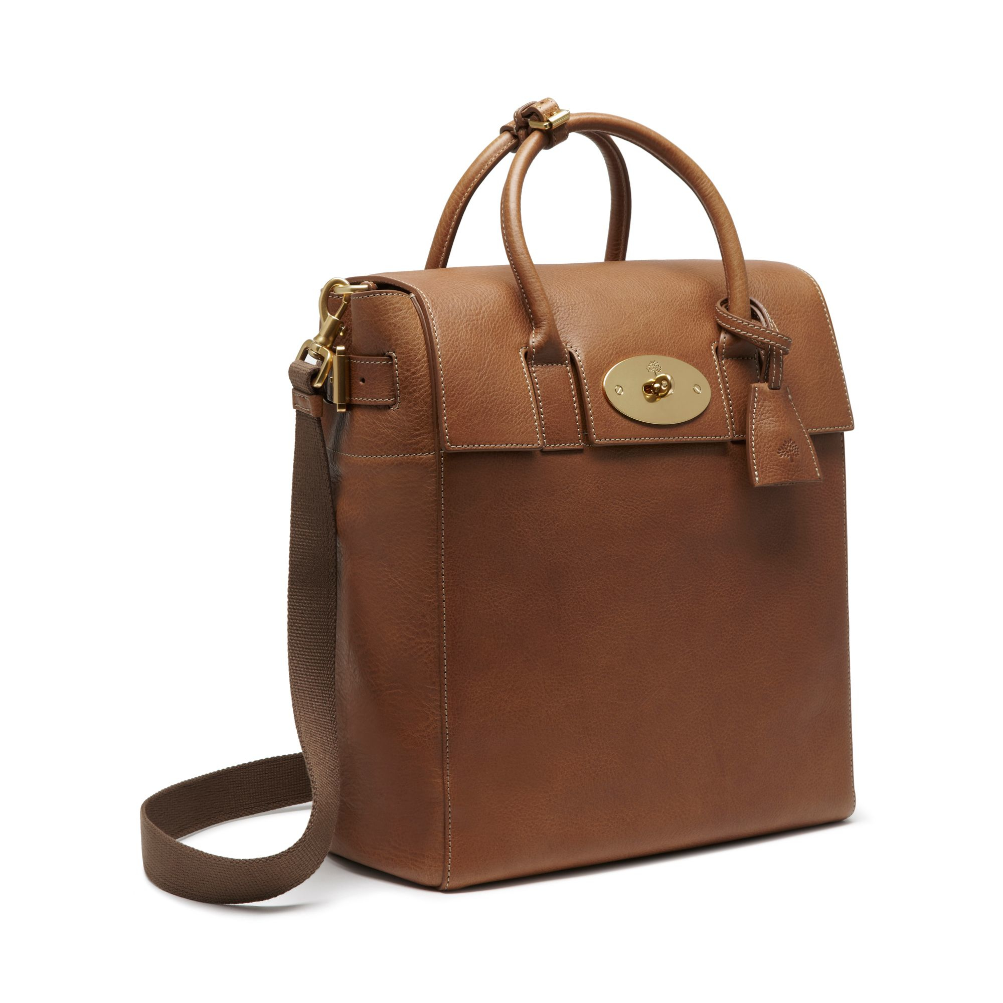 47ae4f84ef0 Mulberry Large Cara Delevingne Bag in Brown - Lyst