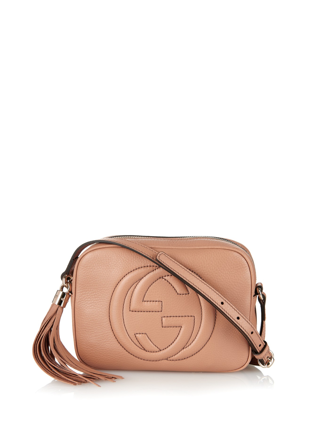 fde3f5a18110 Lyst - Gucci Soho Leather Cross-body Bag in Brown
