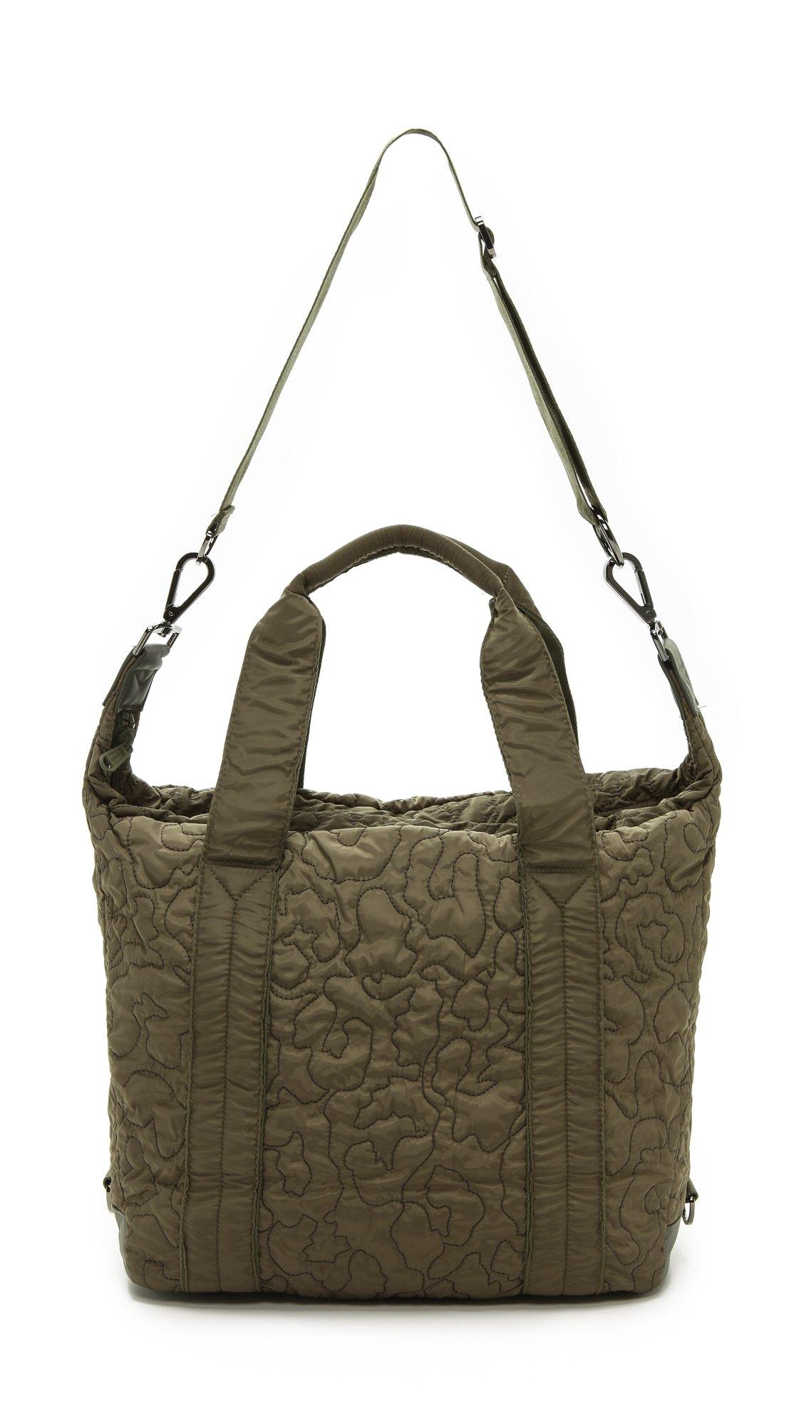 Lyst - adidas By Stella McCartney Small Gym Bag - Cargo in Green c50998a9ead06