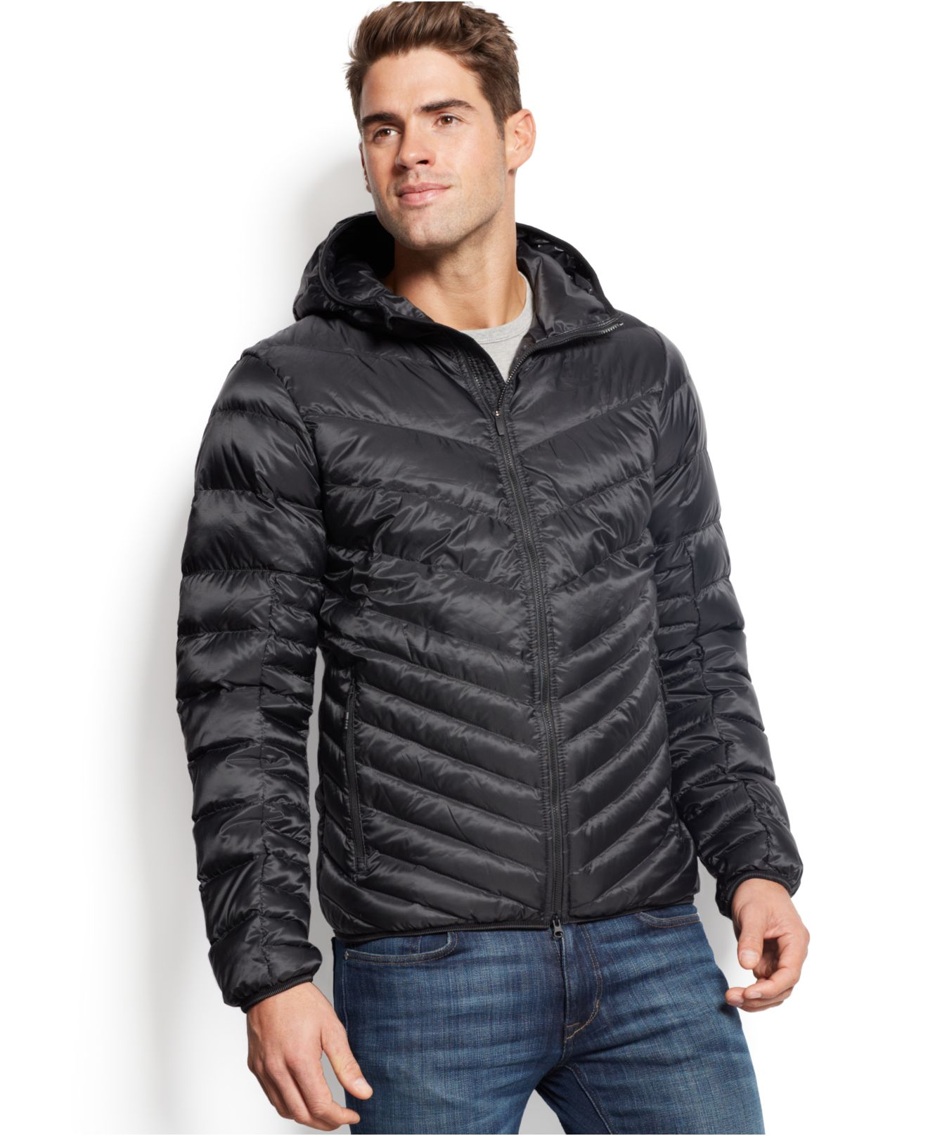 Lyst - Nike Cascade Packable Down Jacket in Black for Men 22892f333749