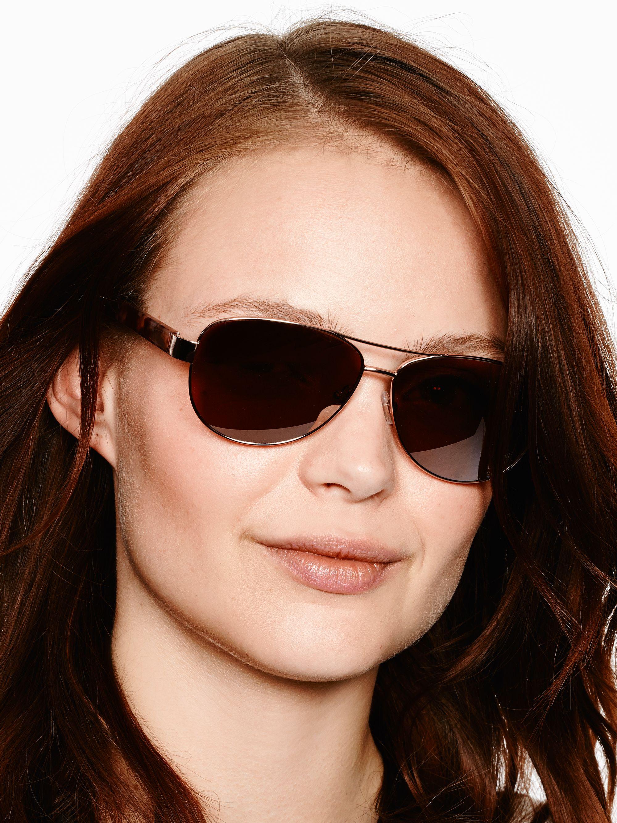 20c399d7522 Lyst - Kate Spade Dalia Sunglasses in Brown