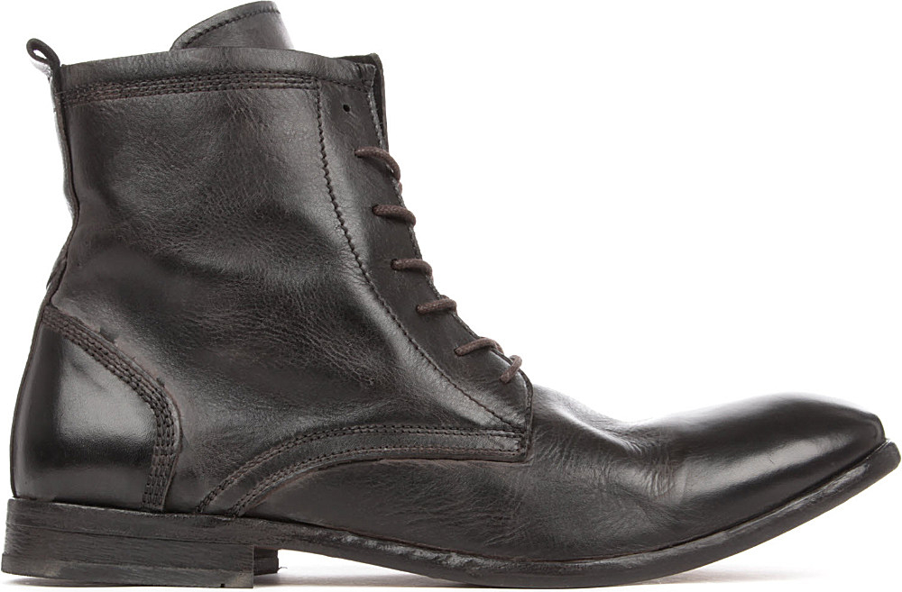 h by hudson swathmore boots in black for lyst