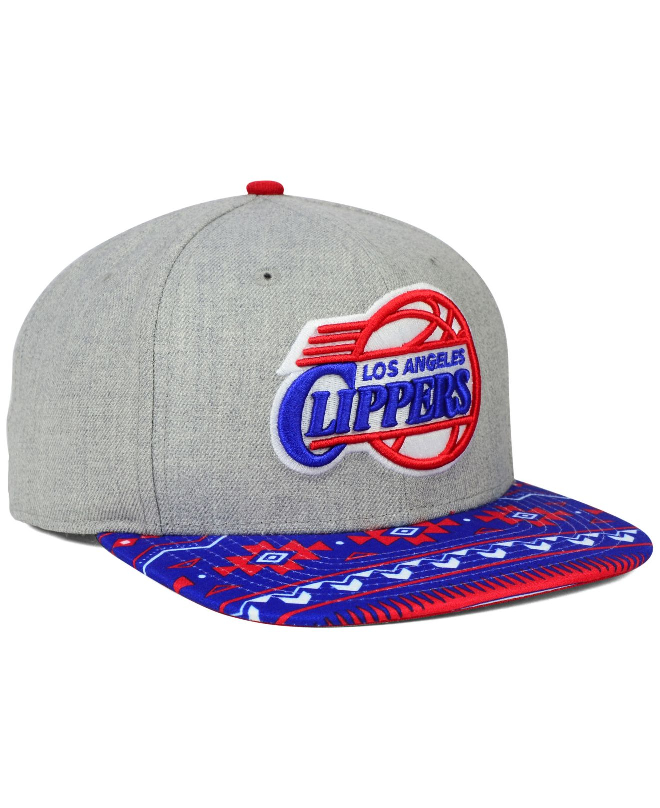 04c243ec350 where to buy lyst ktz los angeles clippers neon mashup 9fifty snapback cap  in 68010 91ea1