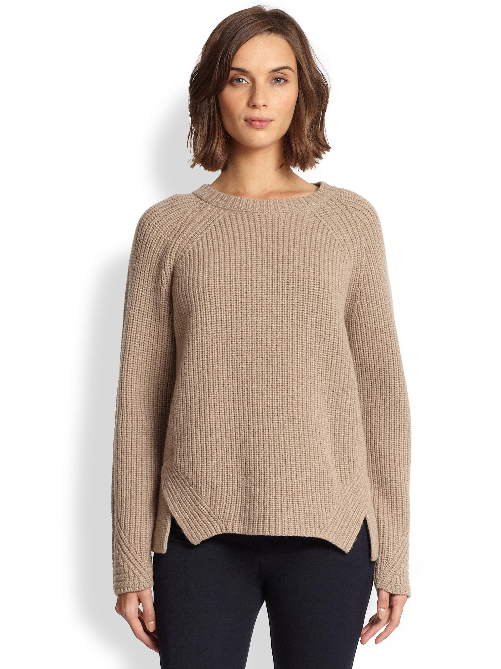 Wool Sweater Grey: Weekend By Maxmara Sonale Wool Sweater In Natural