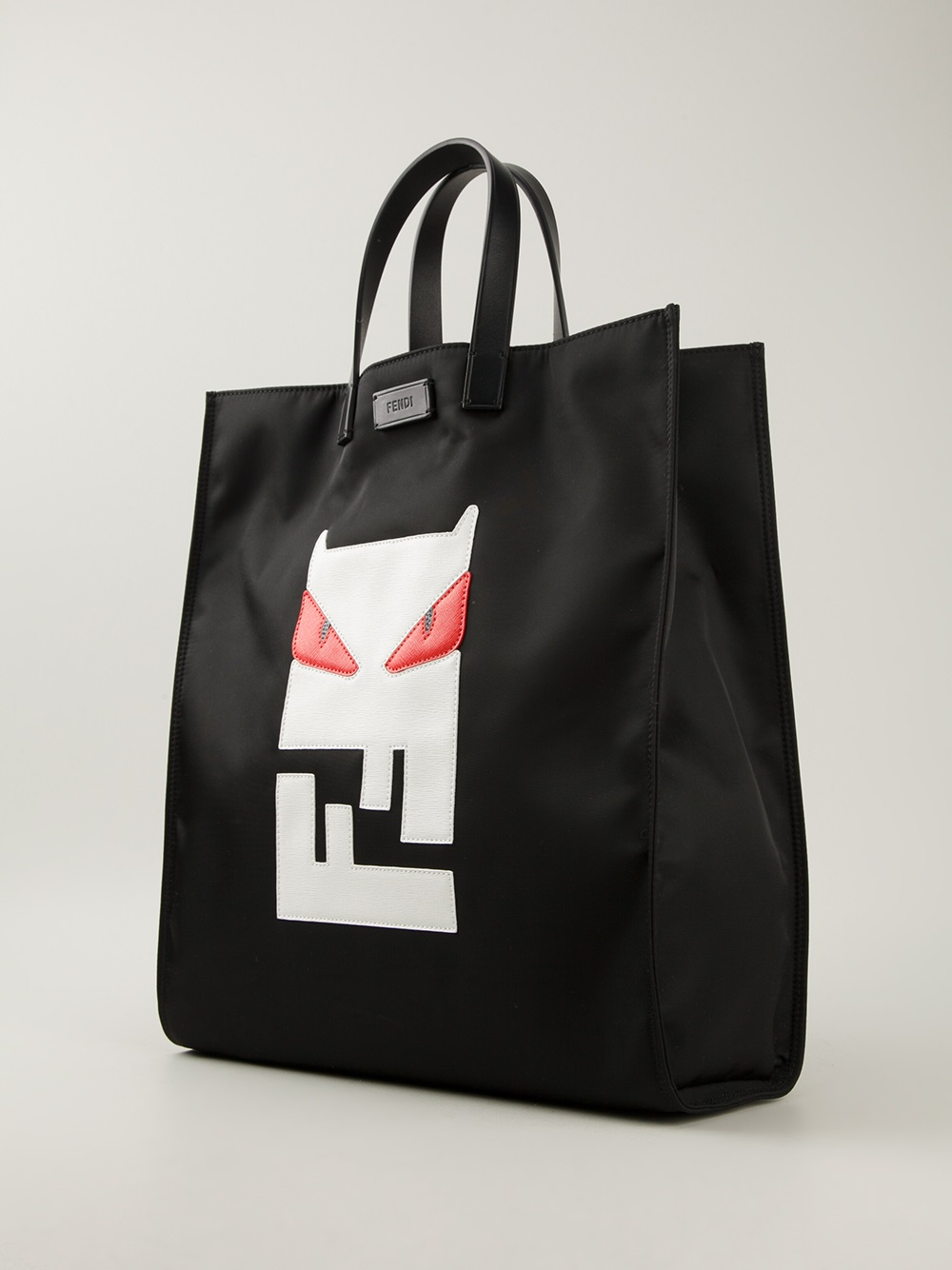 66c4caa2dd5a ... free shipping lyst fendi bag bugs tote in black for men e5324 1496a
