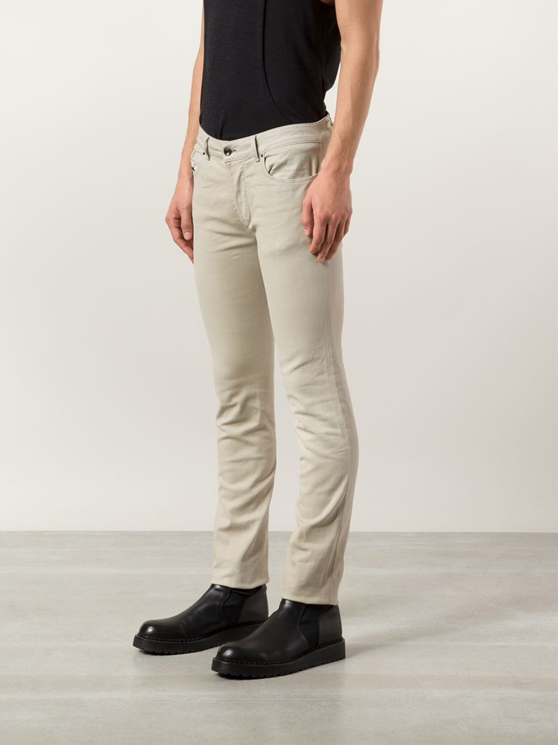 Lyst - Diesel Black Gold Skinny Jeans In Natural For Men-2419