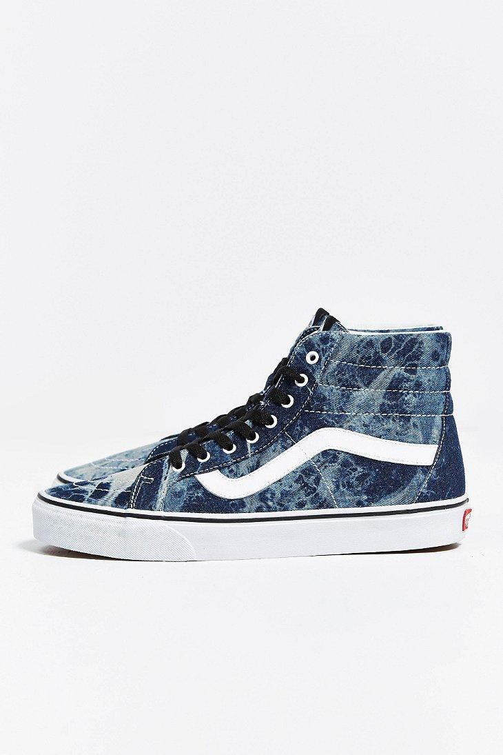 9c63ecbb978e31 Lyst - Vans Sk8-Hi Reissue Acid Wash Sneaker in Blue for Men