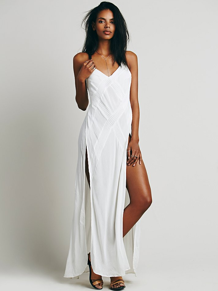 Free People Summer Rain Dress In White Lyst