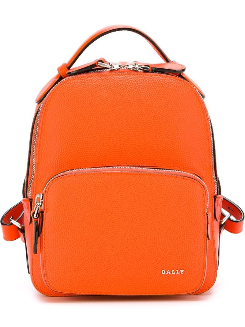 90d163f3eef Lyst - Bally Extra Small  sloane  Backpack in Orange