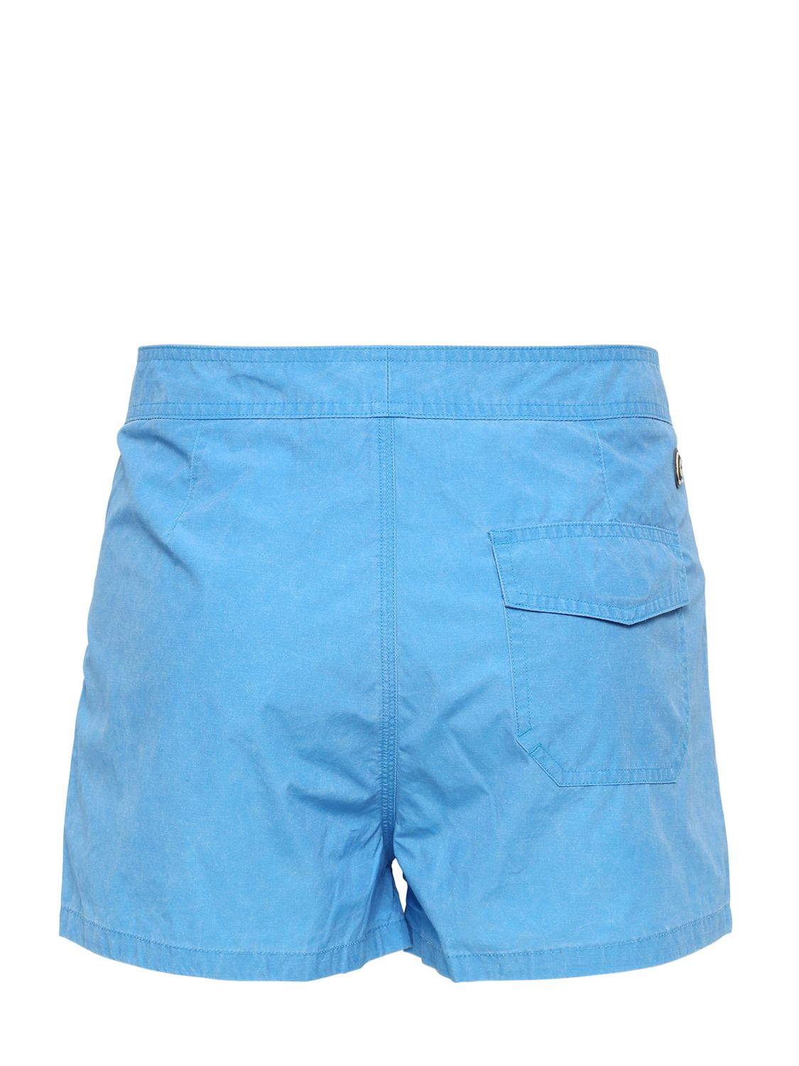 Colmar nylon swimming shorts in blue for men lyst for Blue piscine colmar