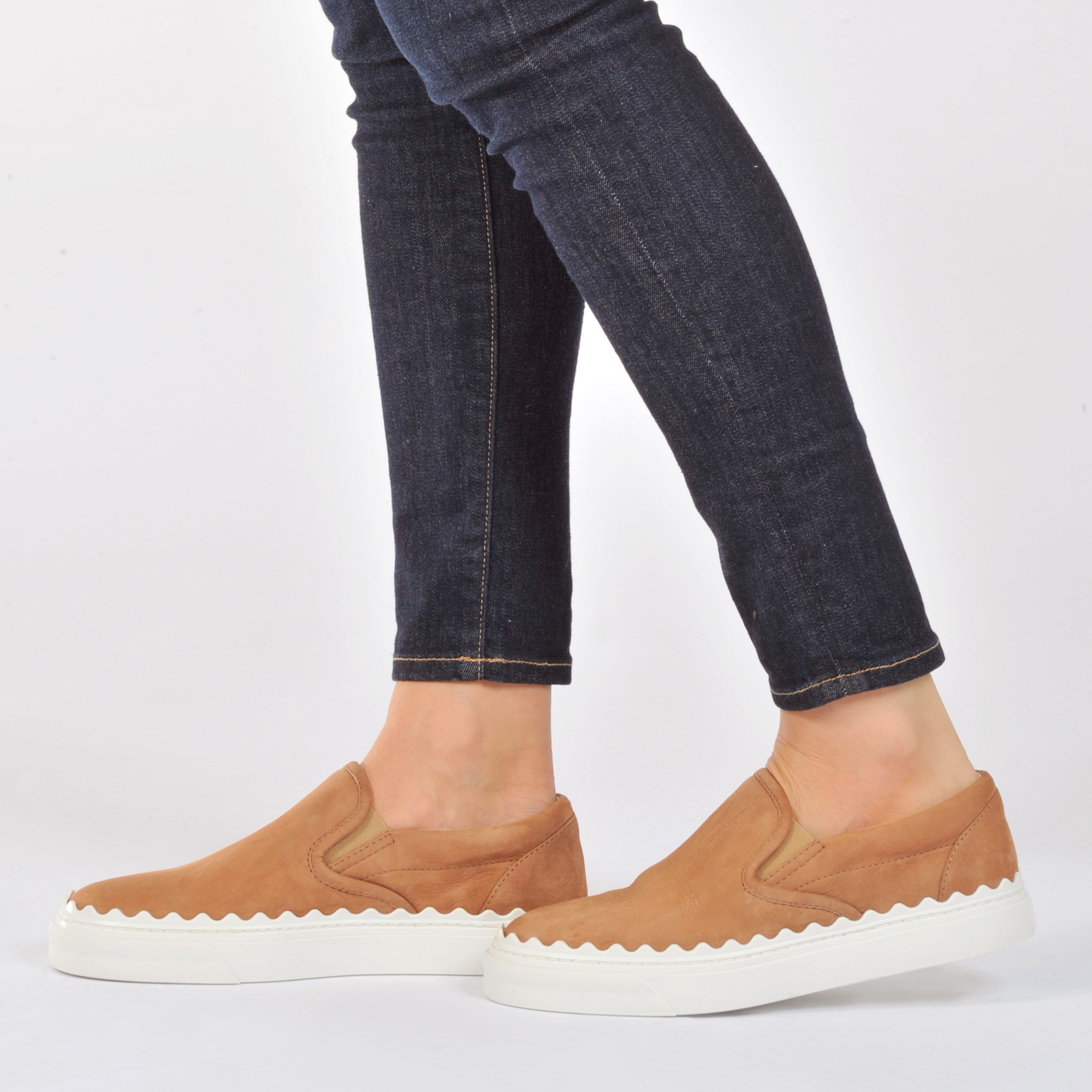 Chloé Ivy Scallop Slip-On Sneakers outlet best wholesale buy cheap low price fee shipping outlet latest collections supply huge surprise UuXcXLIUj
