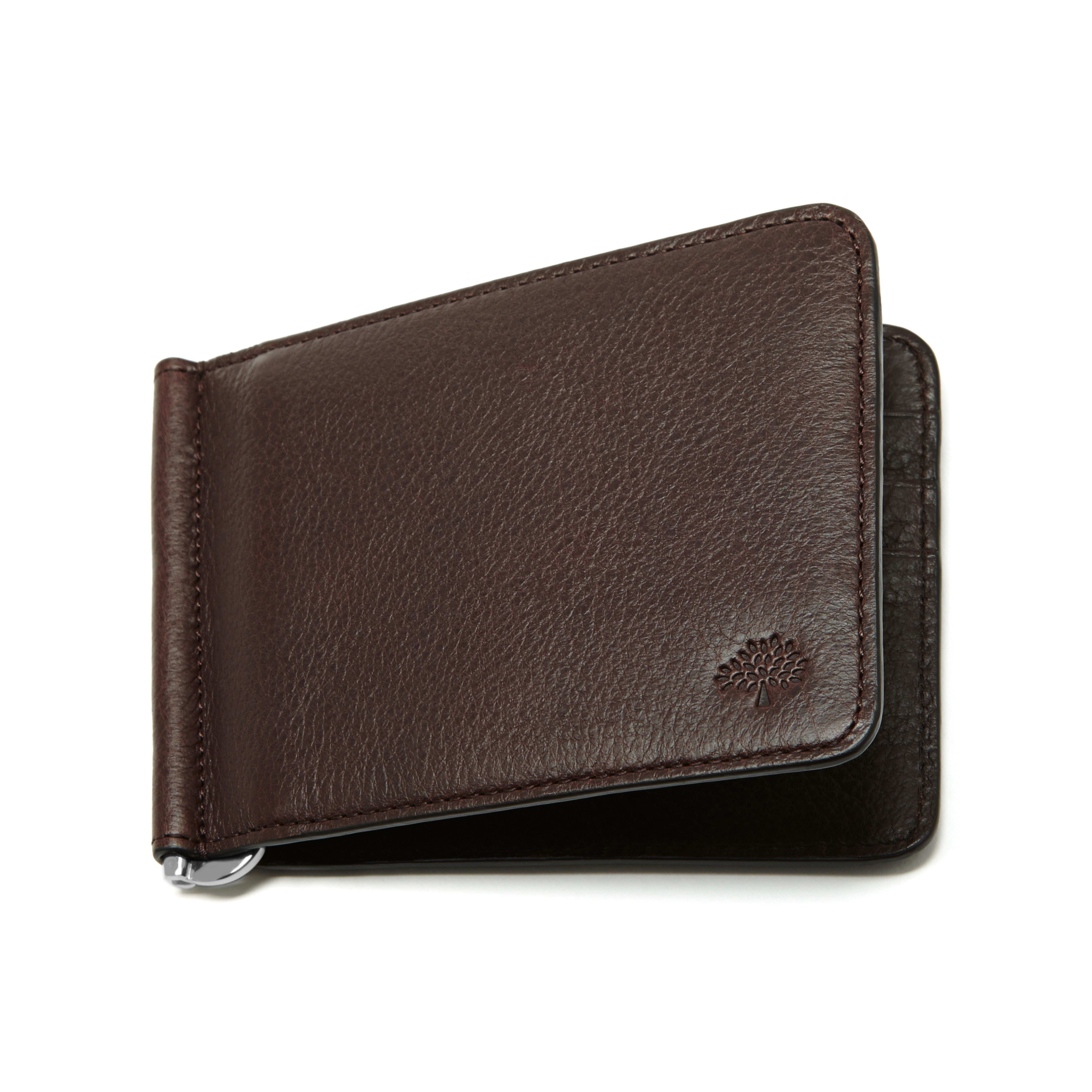 7904e3c36065 Lyst - Mulberry Money Clip Wallet in Brown for Men