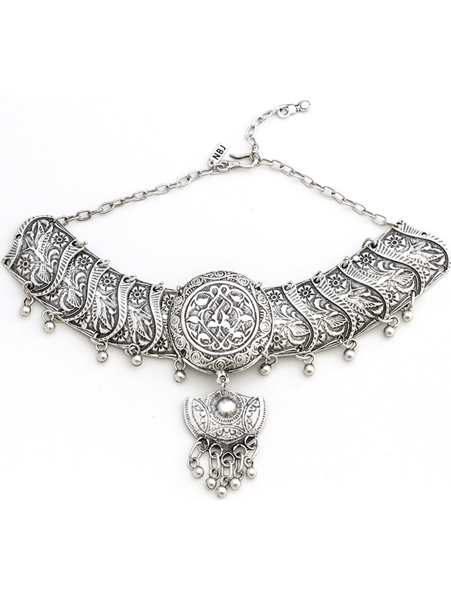 natalie b jewelry natalie b tavi choker in silver in