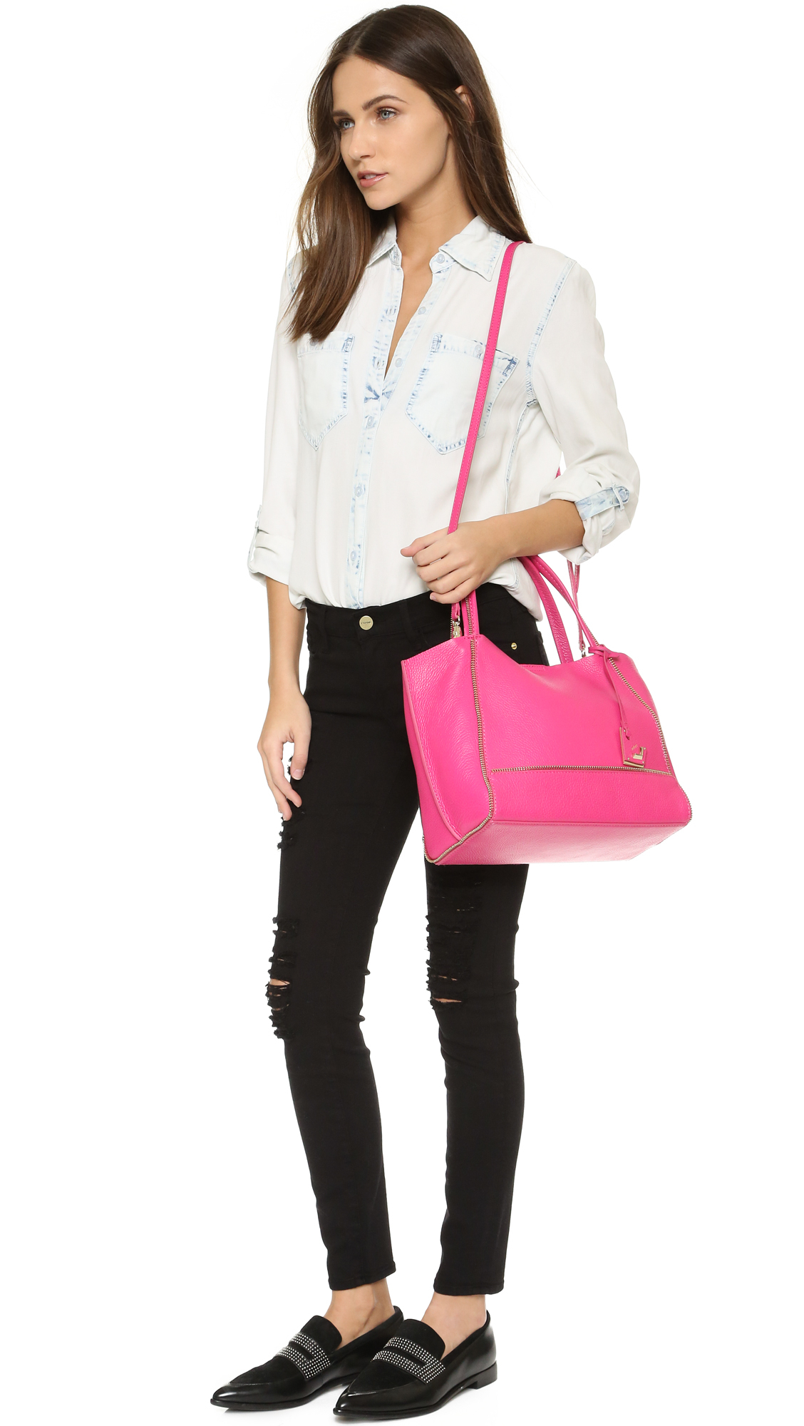 477301d06 Botkier Bite Size Soho Tote in Pink - Lyst