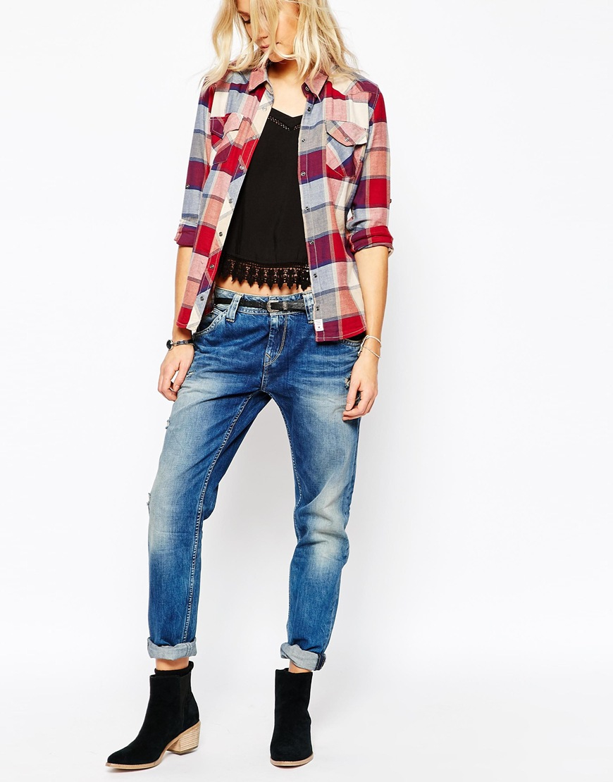 Pepe Jeans Junior Boy: Pepe Jeans Idoler Boyfriend Jean In Blue