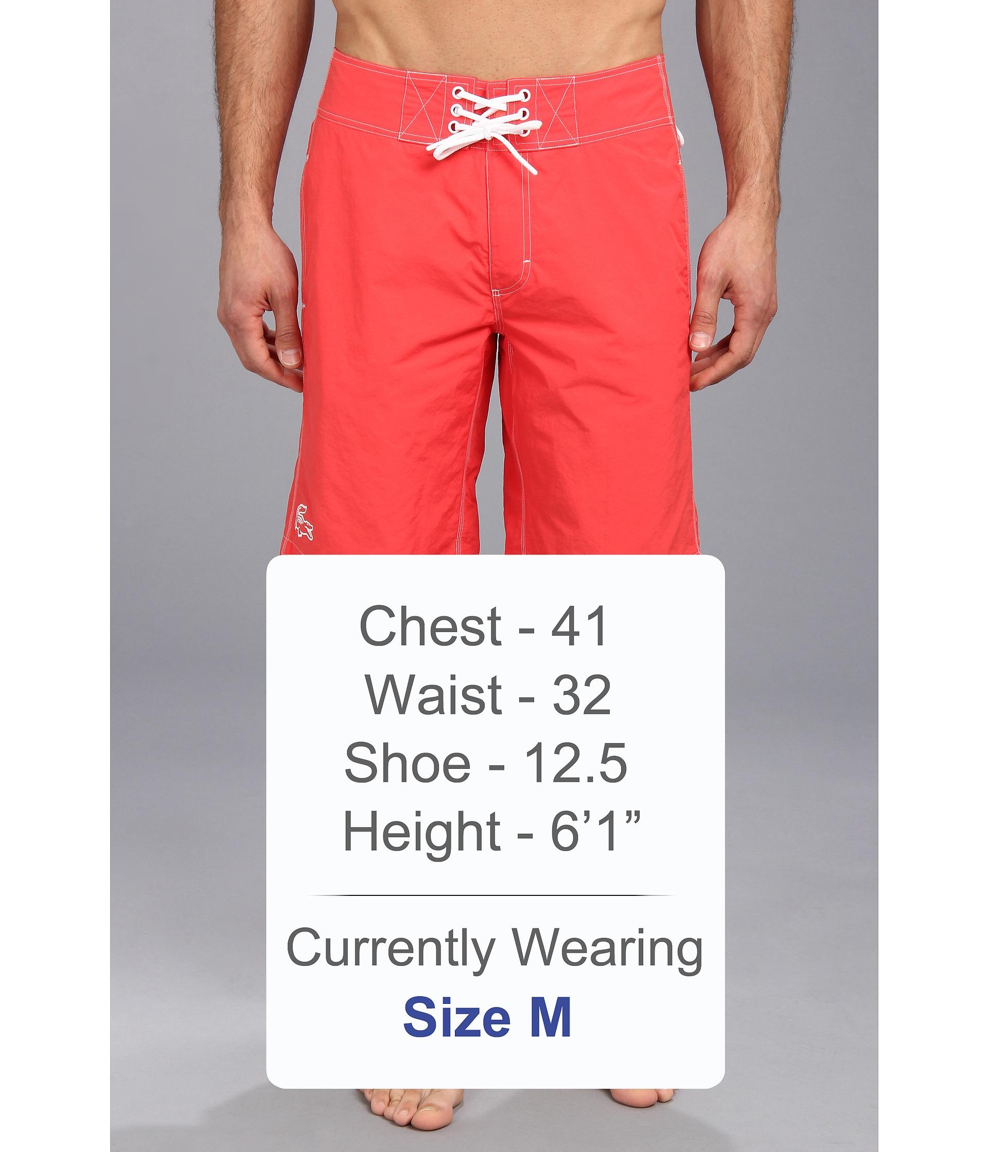 b3190cf6bf Lacoste Board Short Swim W Rubber Croc 11 in Pink for Men - Lyst