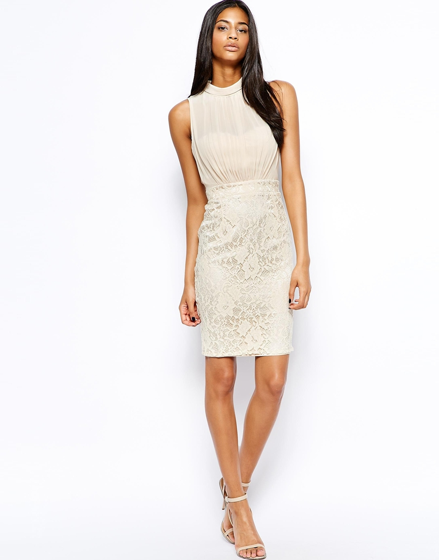 Collection White Pencil Skirt Dress Pictures - Reikian