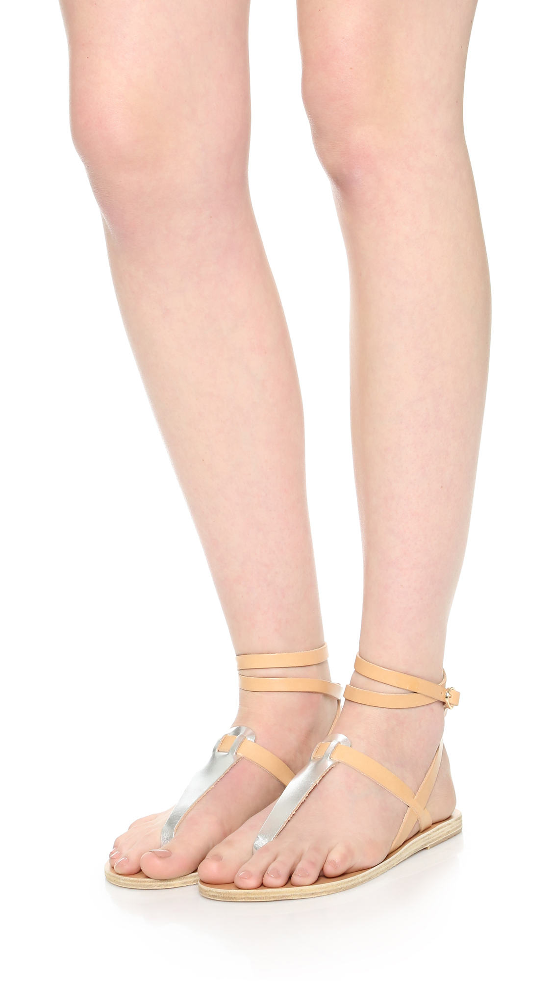 Ancient Greek Sandals Estia Nails Leather Sandals EICrvMJ3TH