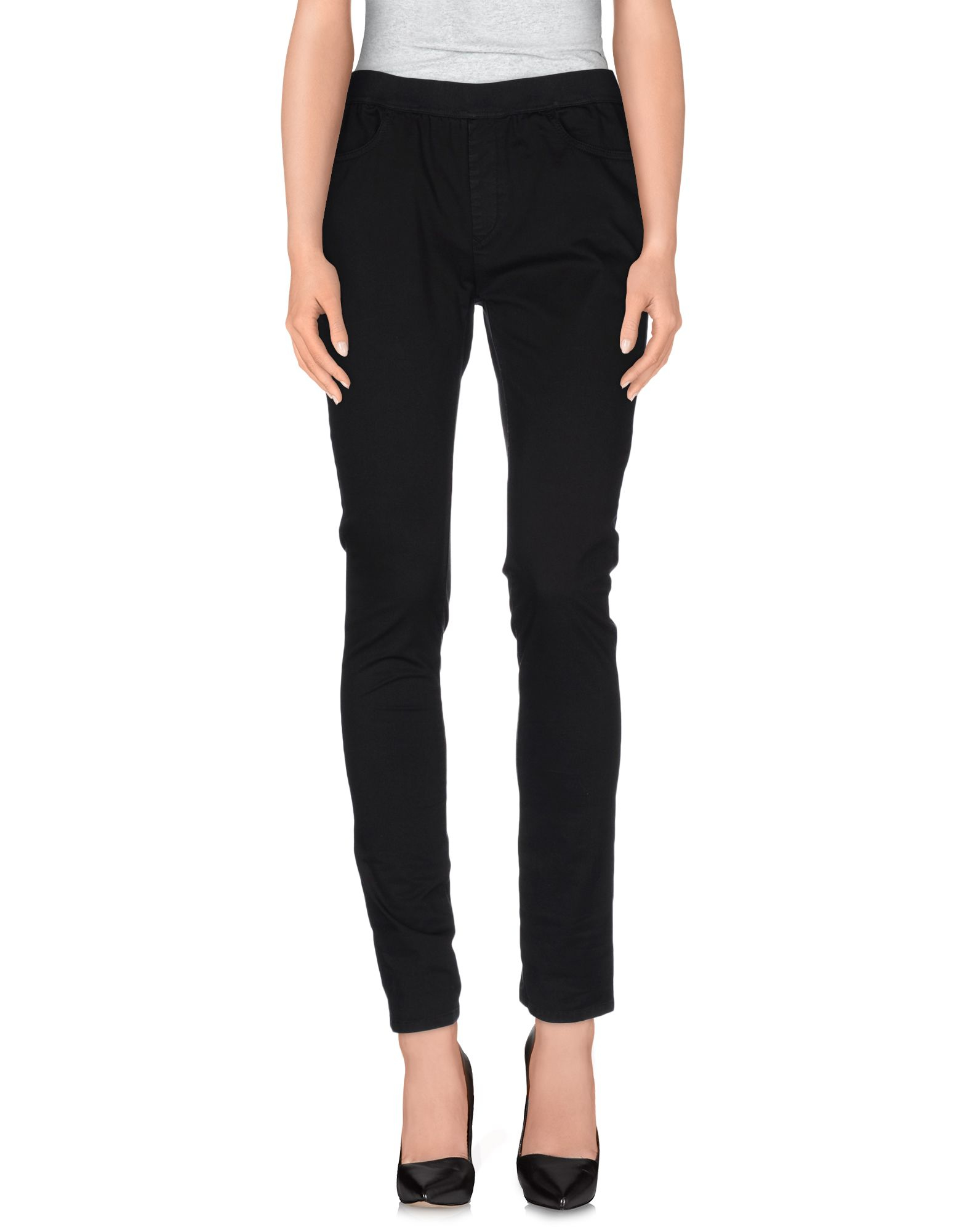Mm6 by maison martin margiela casual trouser in black lyst for 10 moulmein rise la maison
