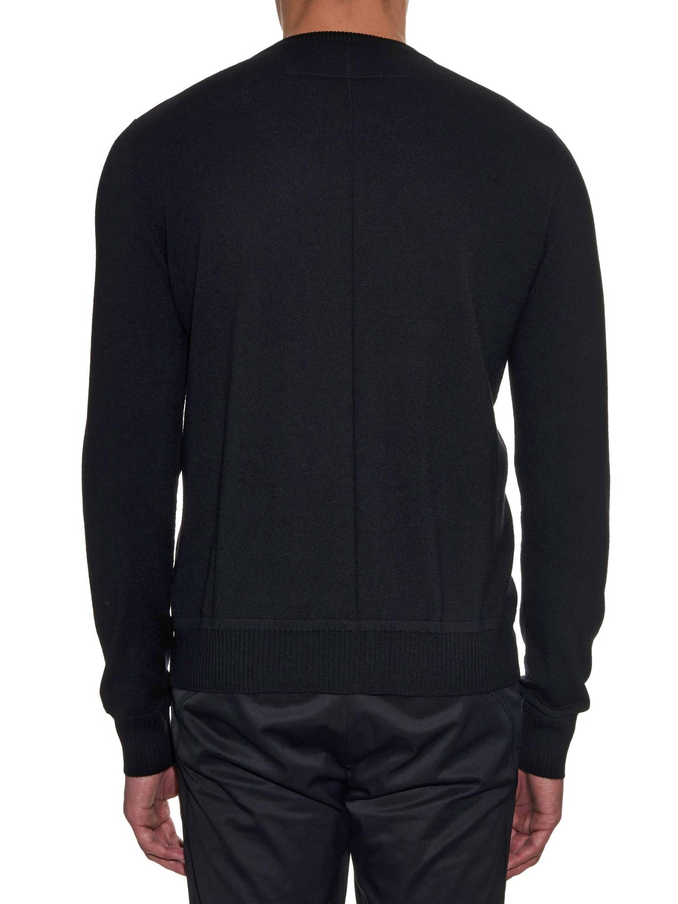 lyst givenchy rottweiler crew neck sweater in black for men. Black Bedroom Furniture Sets. Home Design Ideas
