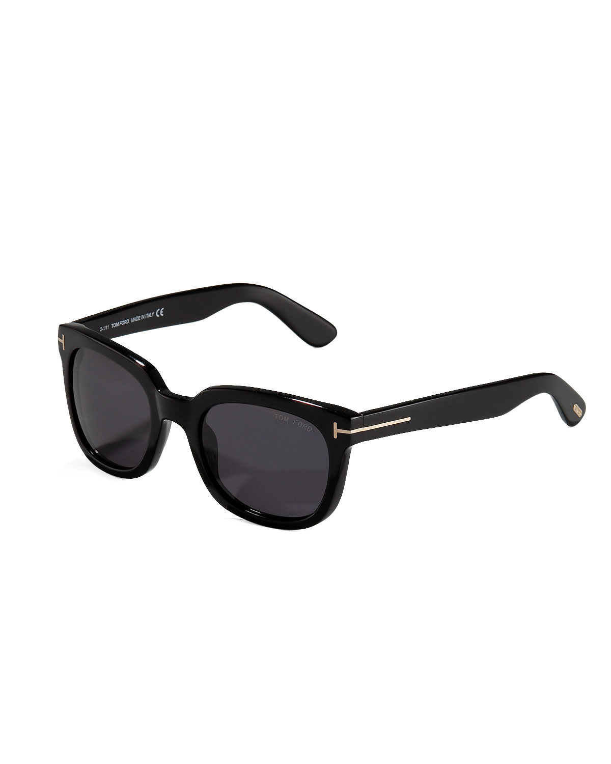 Tom ford Campbell Plastic Sunglasses in Black for Men | Lyst
